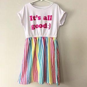 3/$20 Joe Fresh Rainbow 🌈 Dress Size Large 10/12